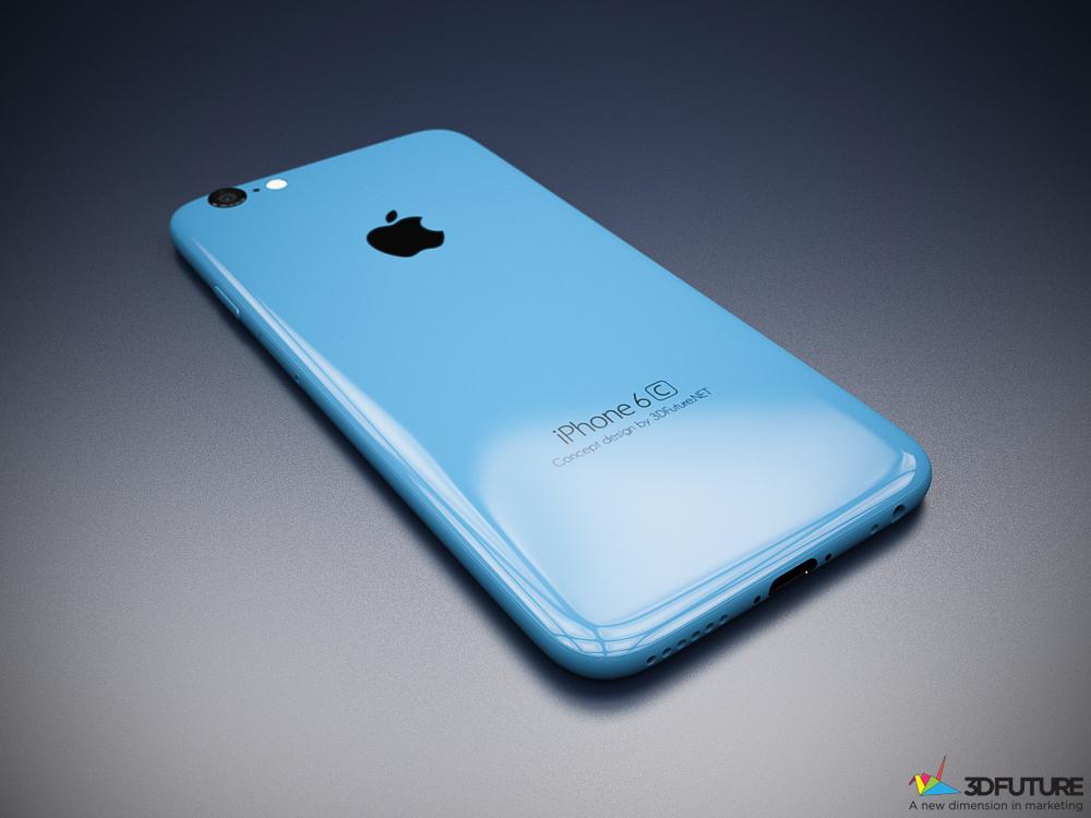 iPhone 6c concept 3D Future 003