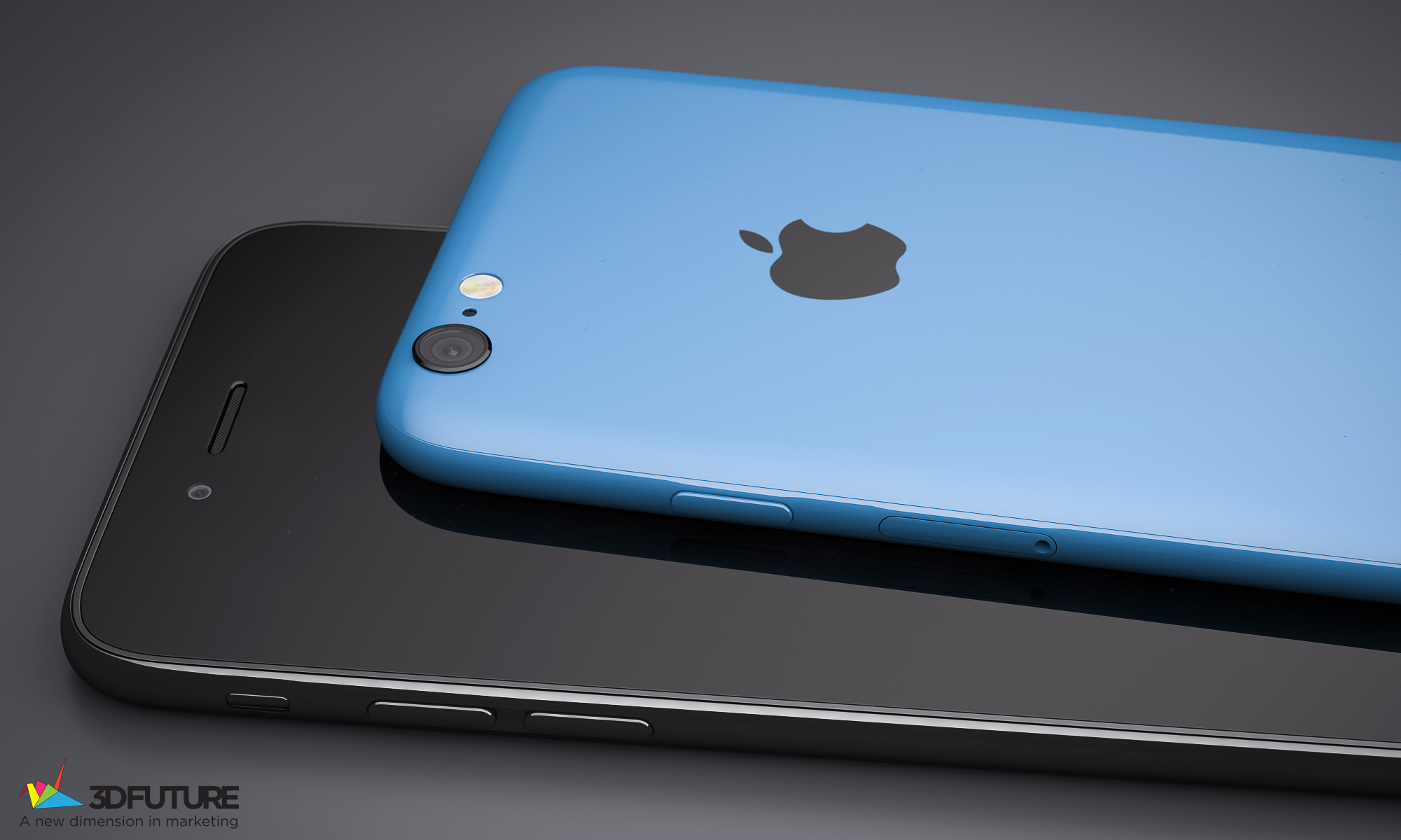 iPhone 6c concept 3D Future 005