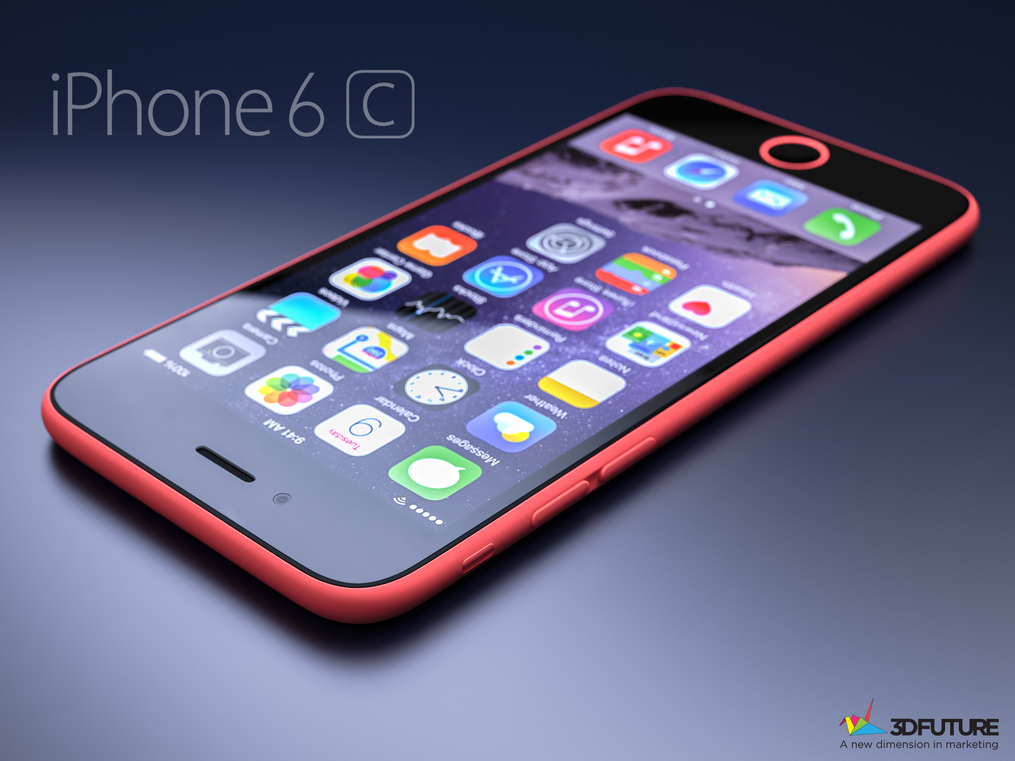 iPhone 6c concept 3D Future 006
