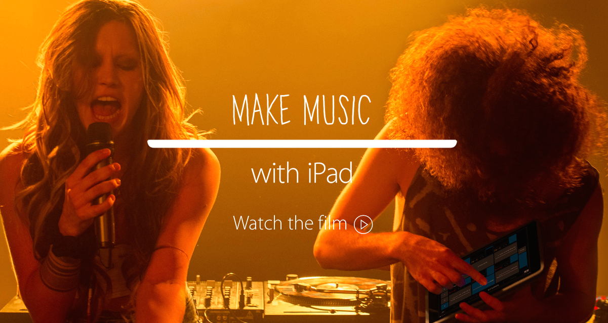 make music with iPad