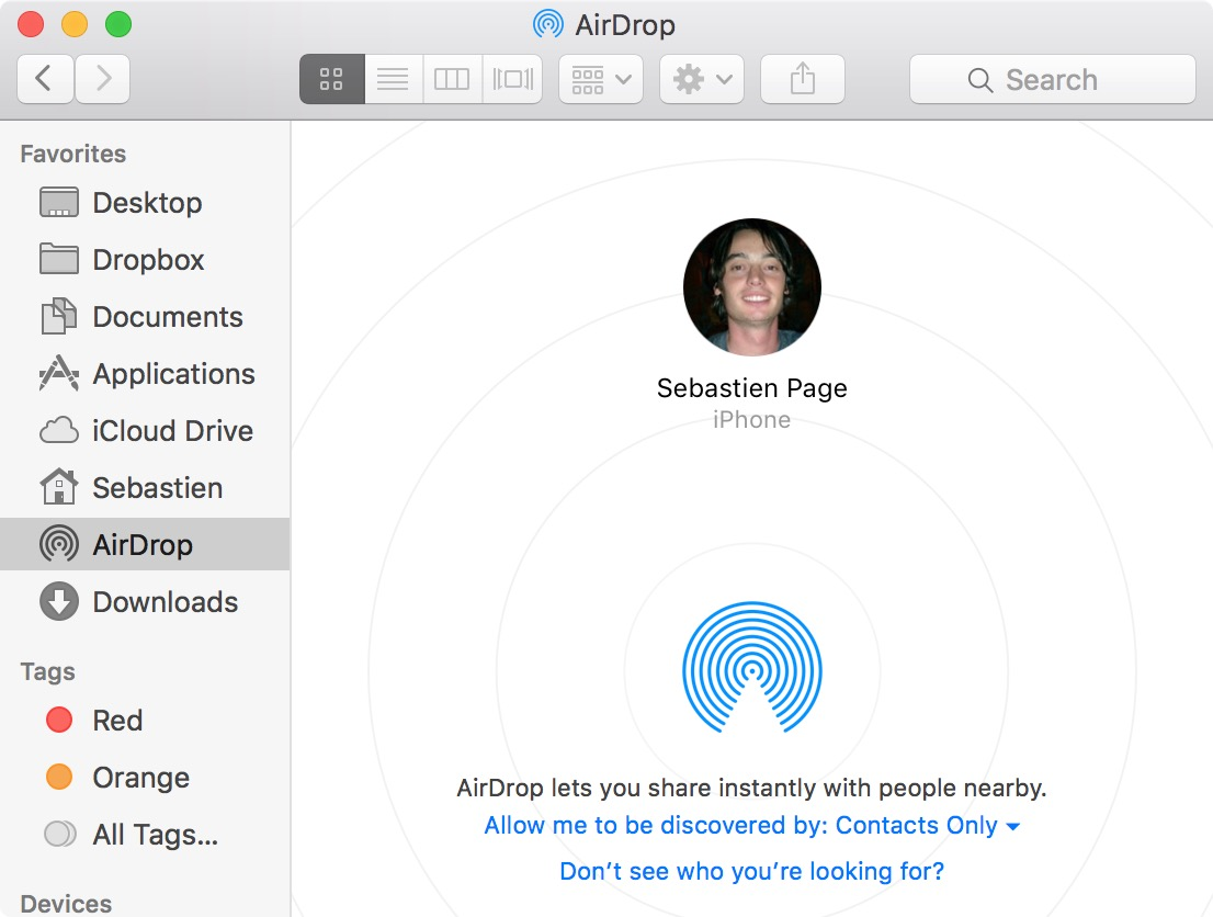 Transfer photos to mac with airdrop