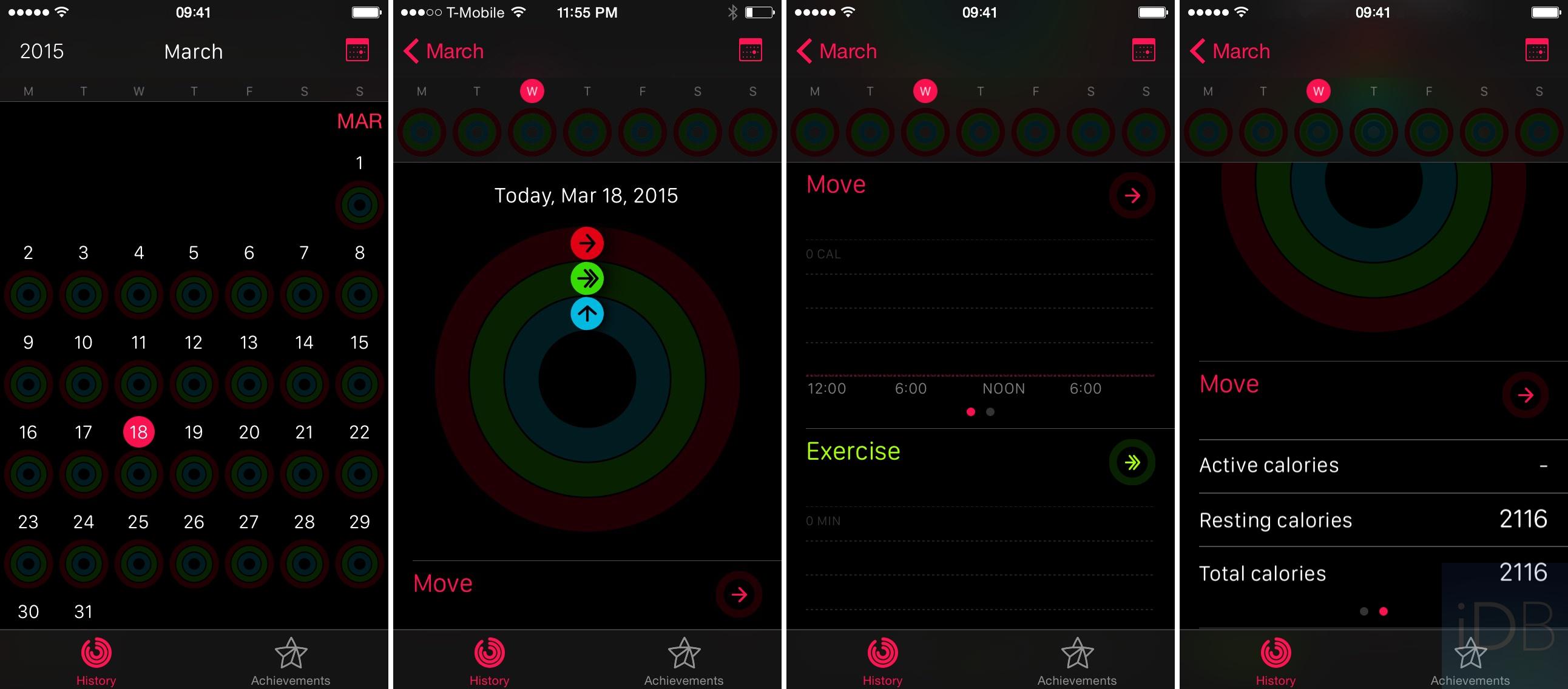 Activity App History