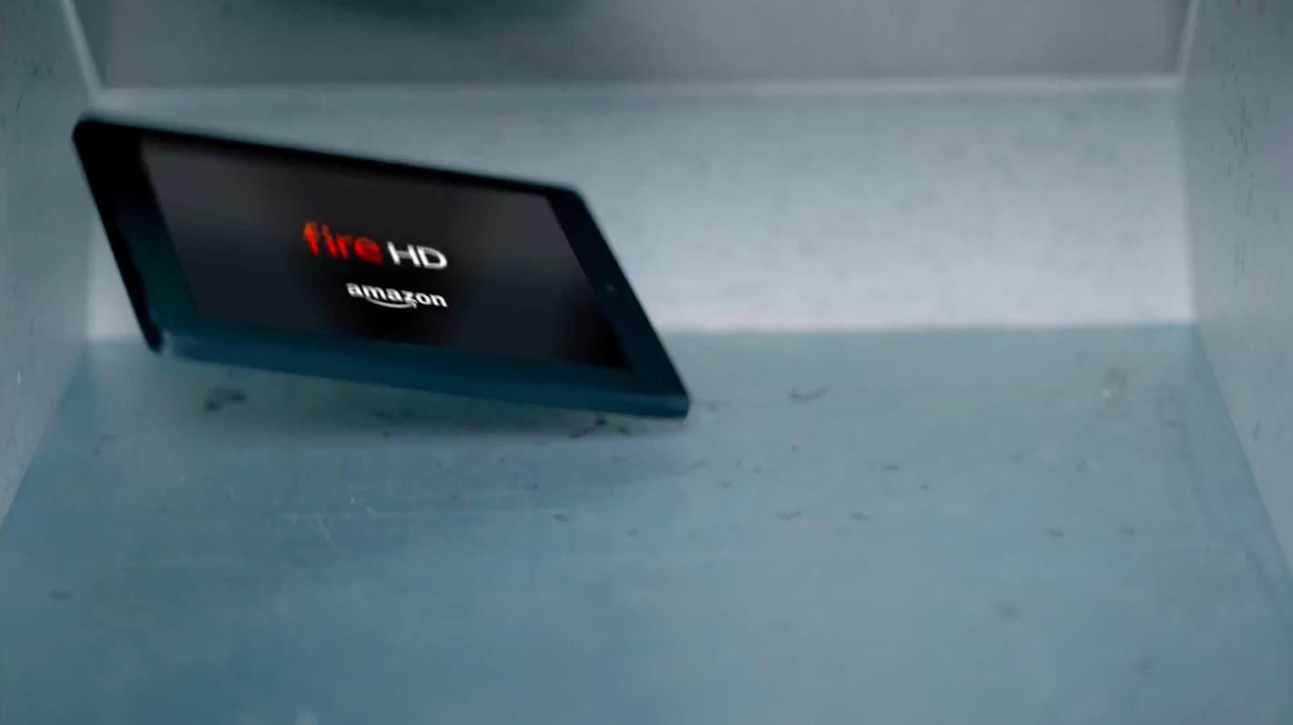Amazon ad Kindle Fire HD twice as durable as iPad
