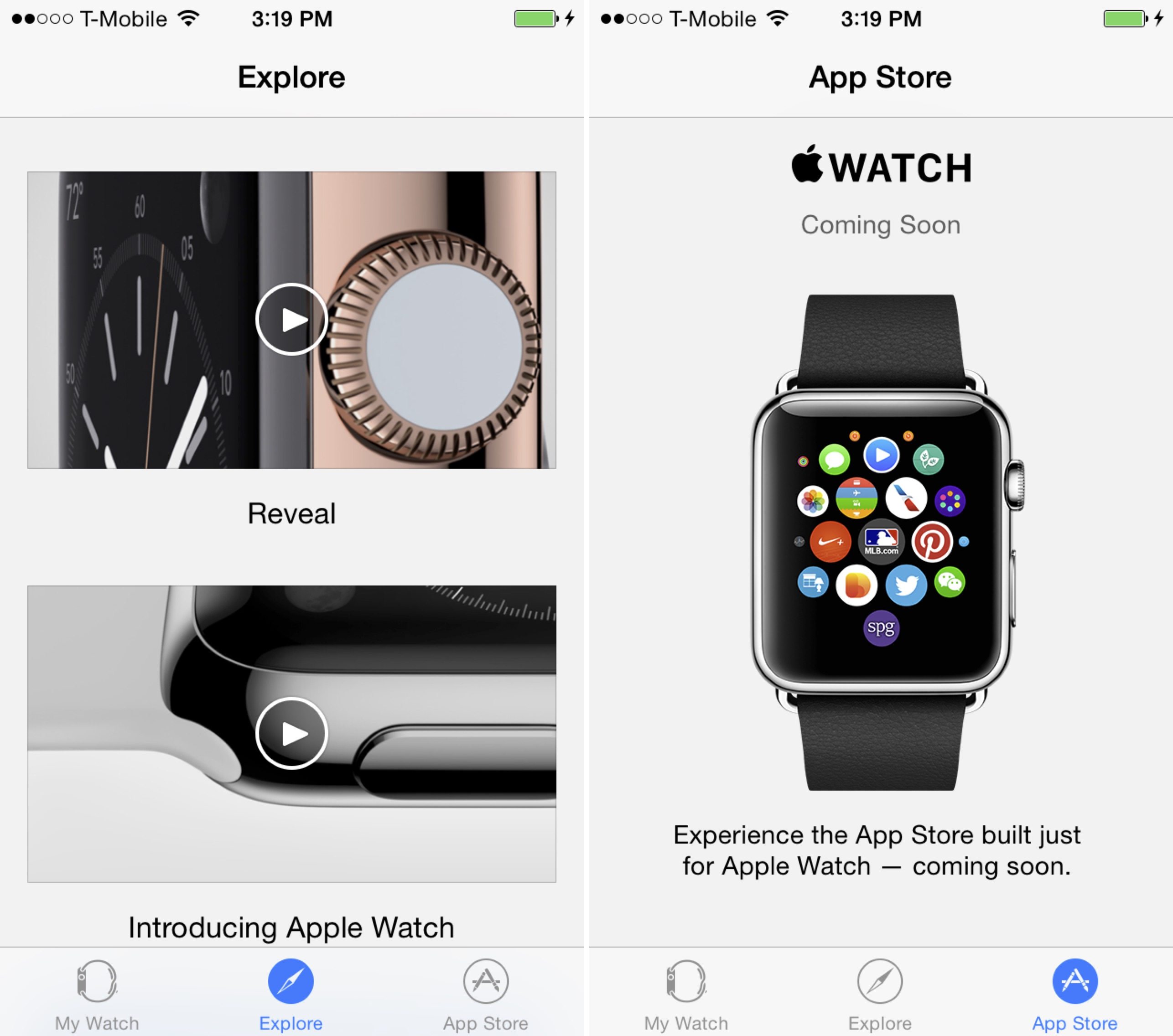 Apple Watch Explore Apps
