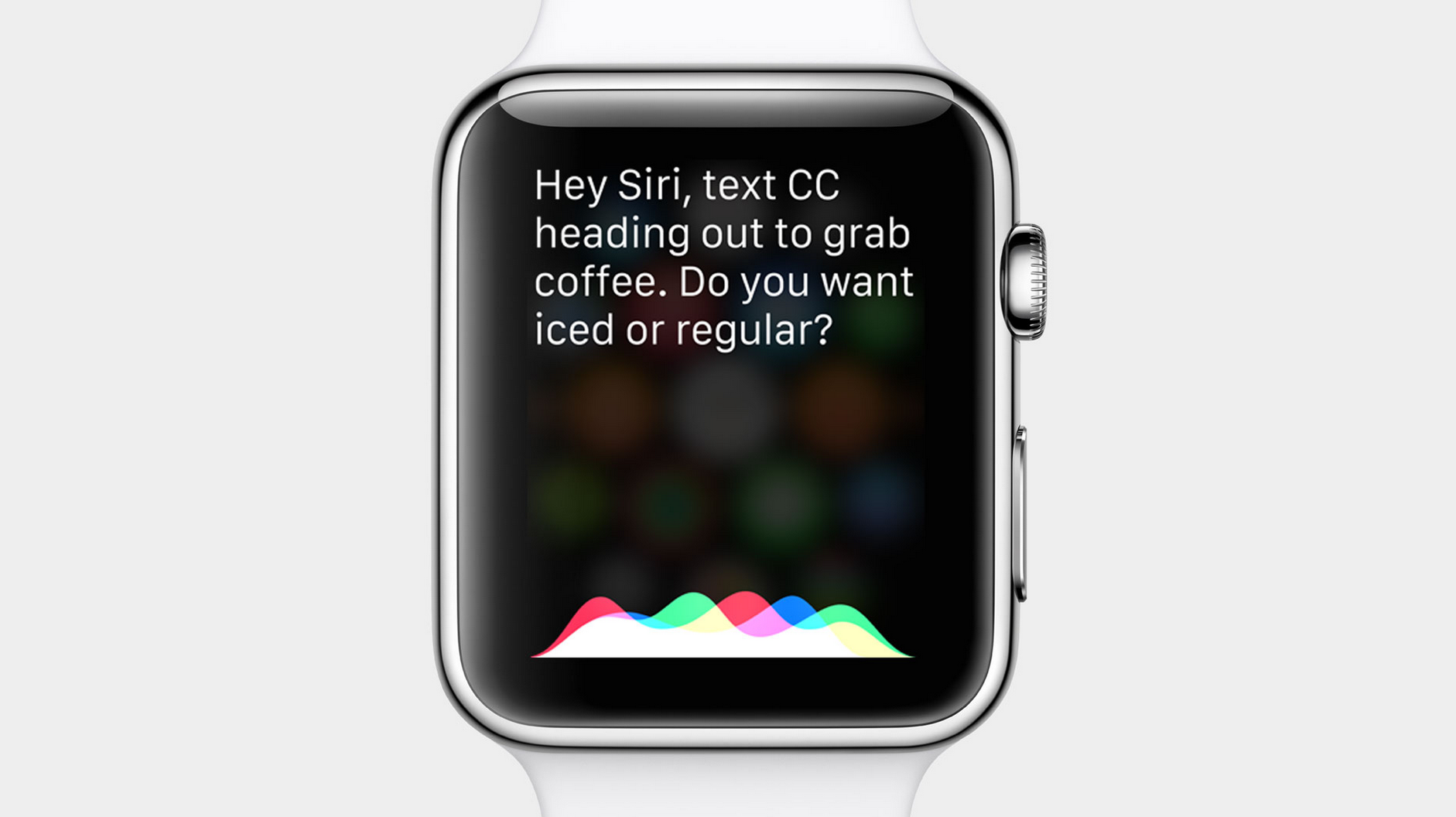 Apple Watch Hey Siri