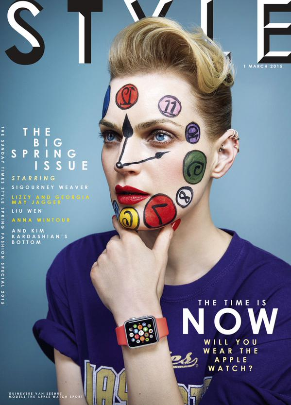 Apple Watch Style magazine March 2015 cover