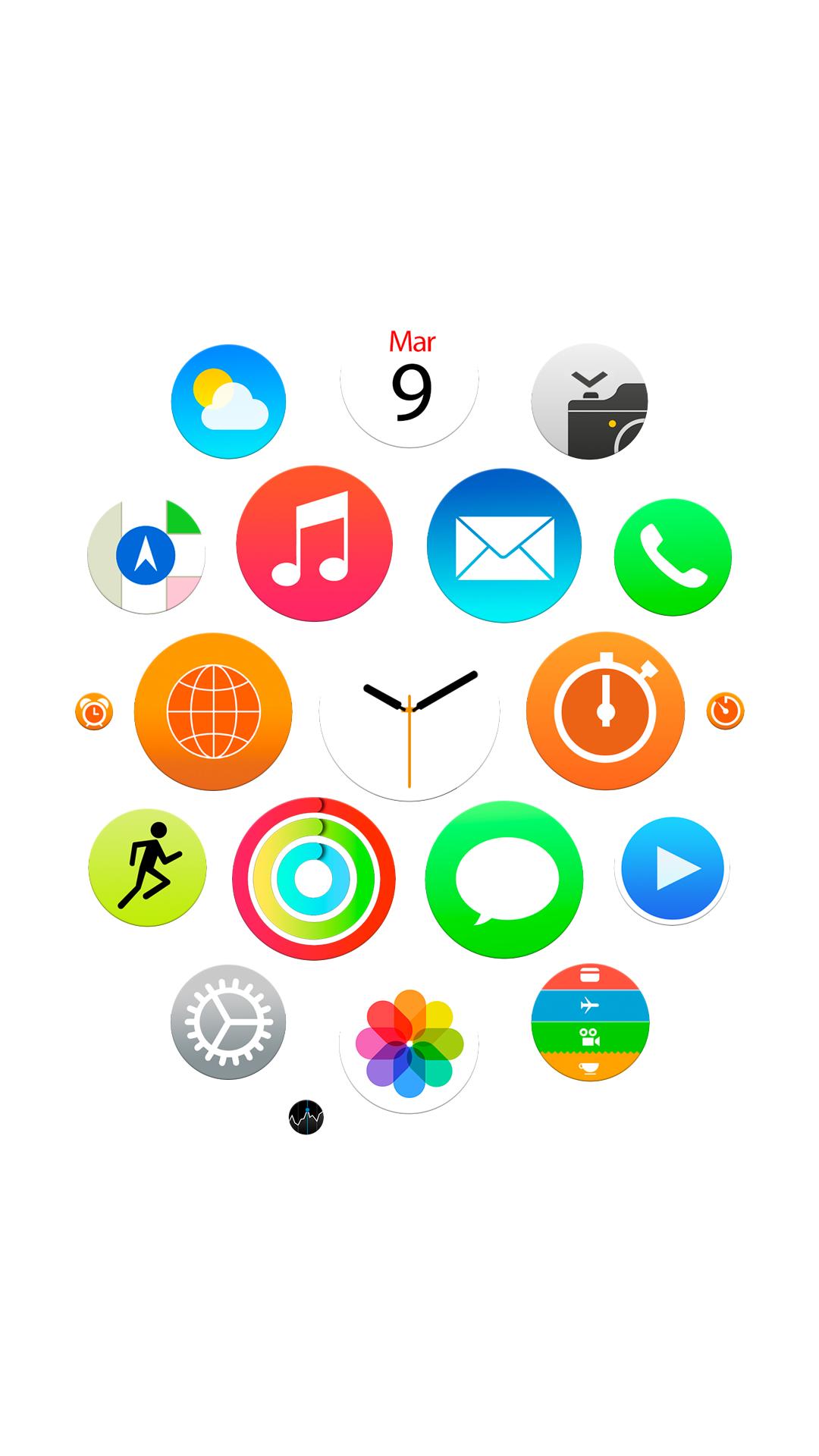 Apple Watch Wallpaper IPad