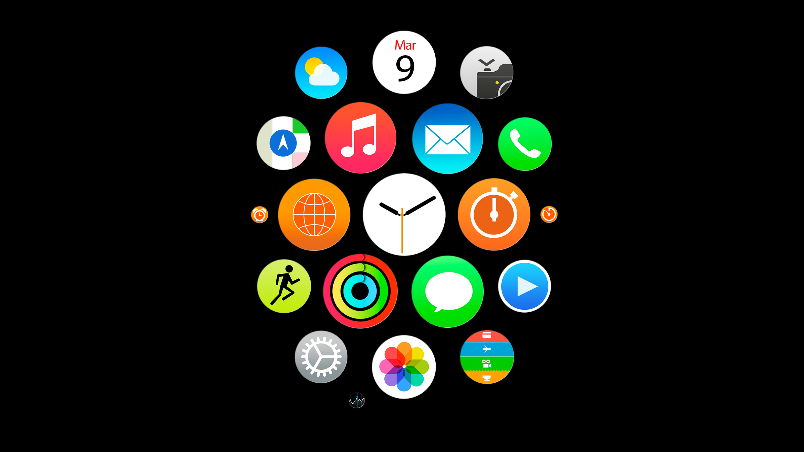 Apple Watch Wallpaper iMacBlack