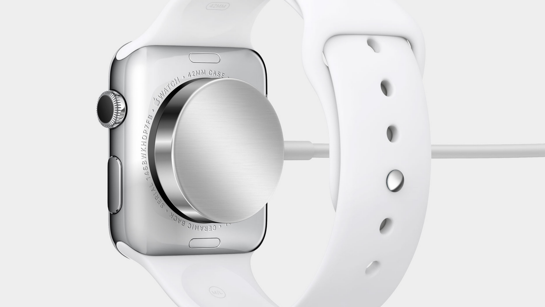 Apple Watch inductive charging