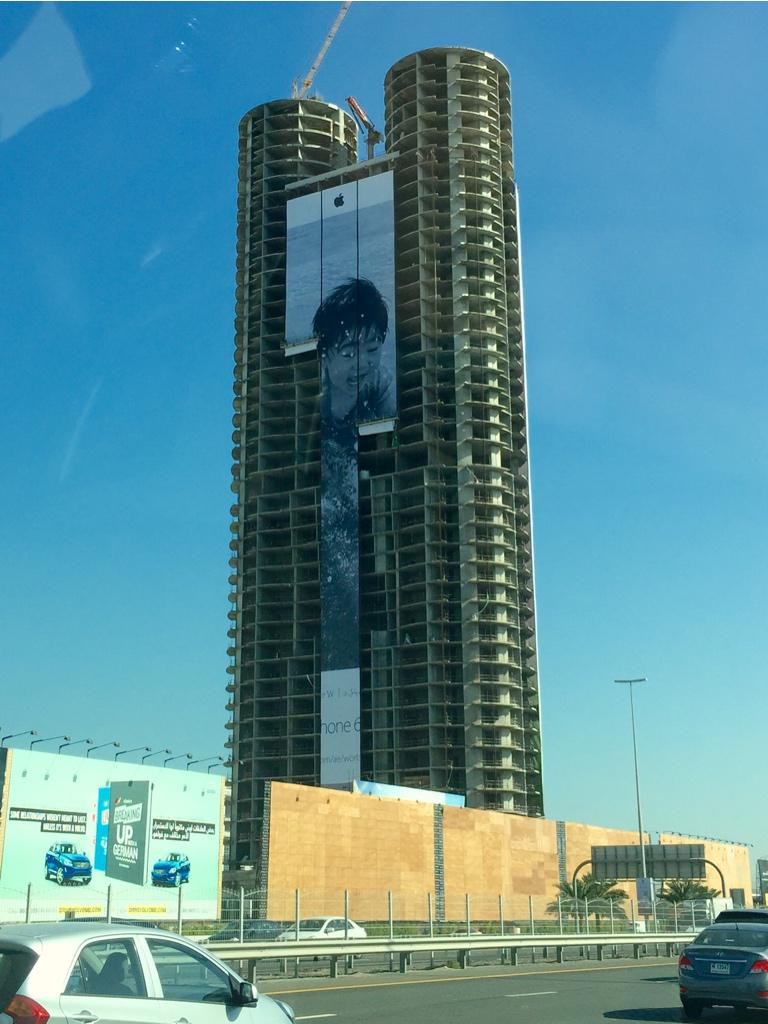 Apple campaing Shot on iPhone 6 Jimmy Grewal billboard