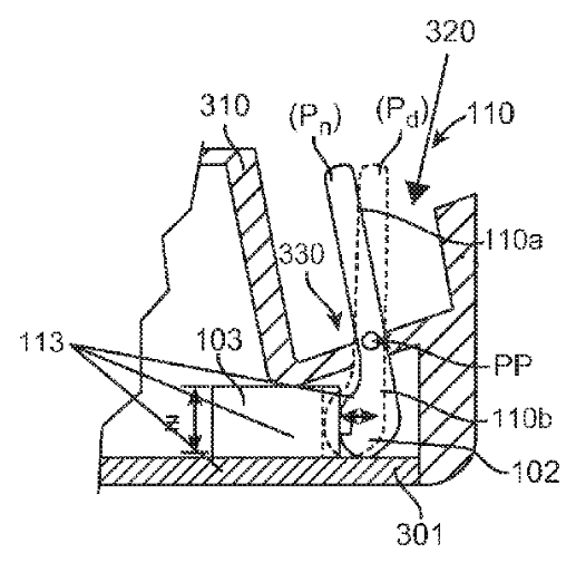 Apple patent flexible Lighting dock image 002
