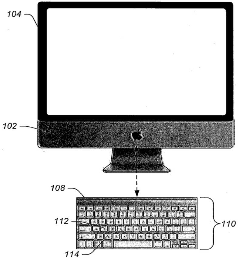 Apple patent haptic Mac keyboard image 001