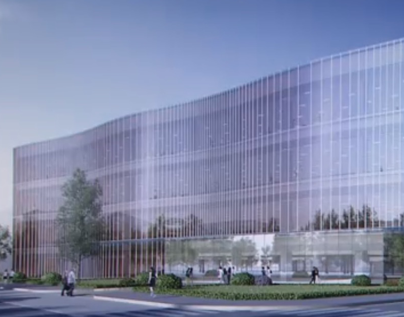 Apple Building Futuristic Looking Technology Center In