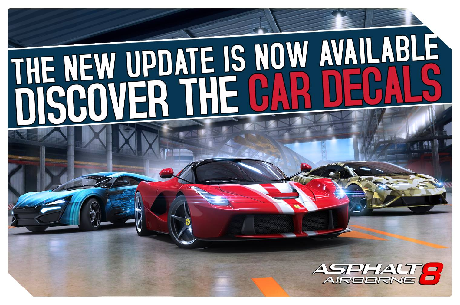Asphalt 8 Airobrne 1.8 for iOS teaser 001