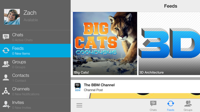 BBM 27. for iOS iPhone screenshot 002