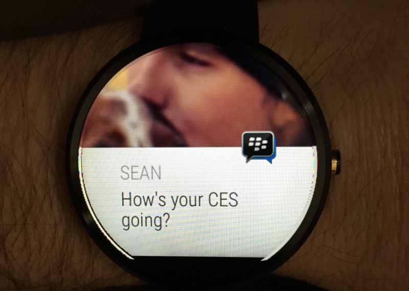BBM para Android Wear teaser 001