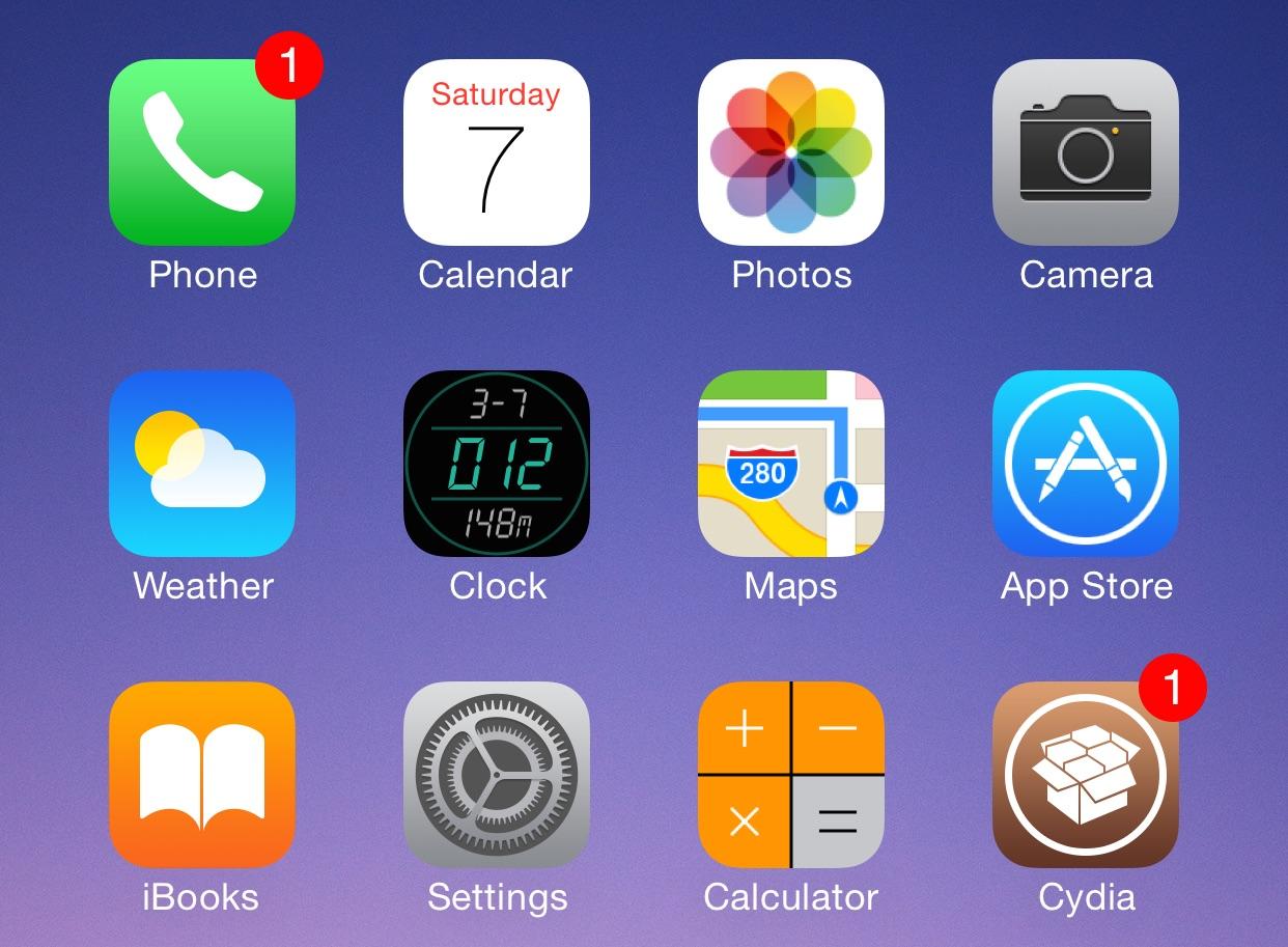Digital Clock Icon Top