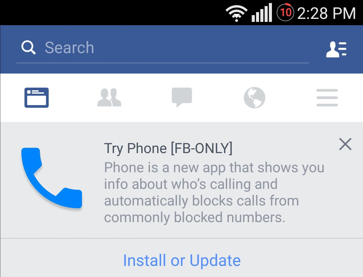 Facebook readying Phone app, may turn Messenger into a platform