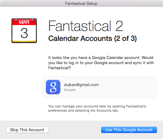 Fantastical 2 for OS X Mac screenshot 002
