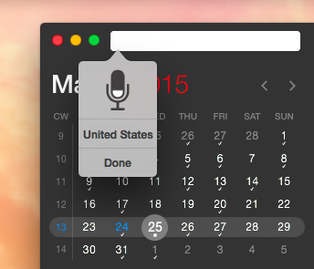Fantastical 2 for OS X Mac screenshot 009