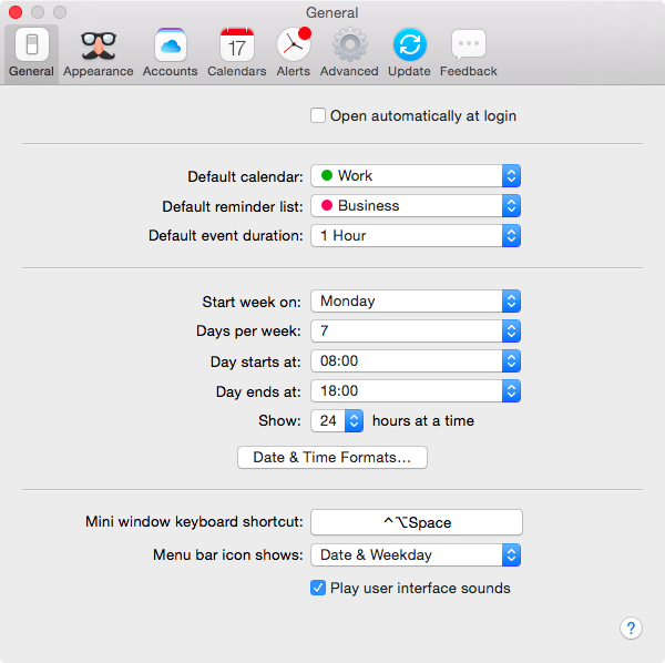 Fantastical 2 for OS X Mac screenshot 020