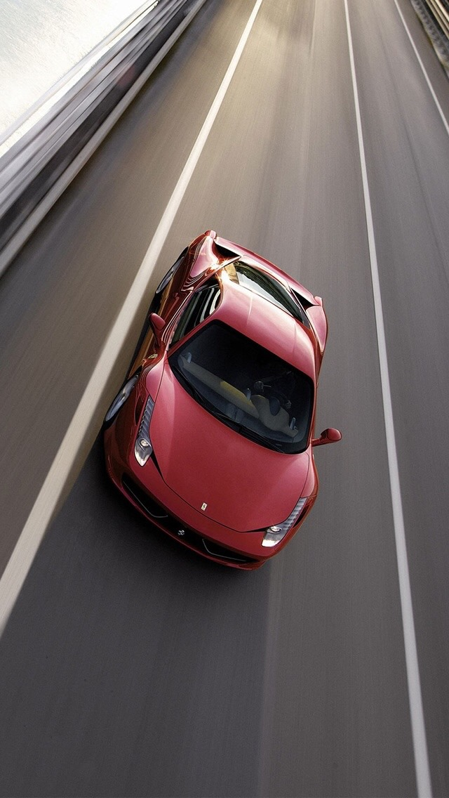 Ferrari Highway Wallpaper