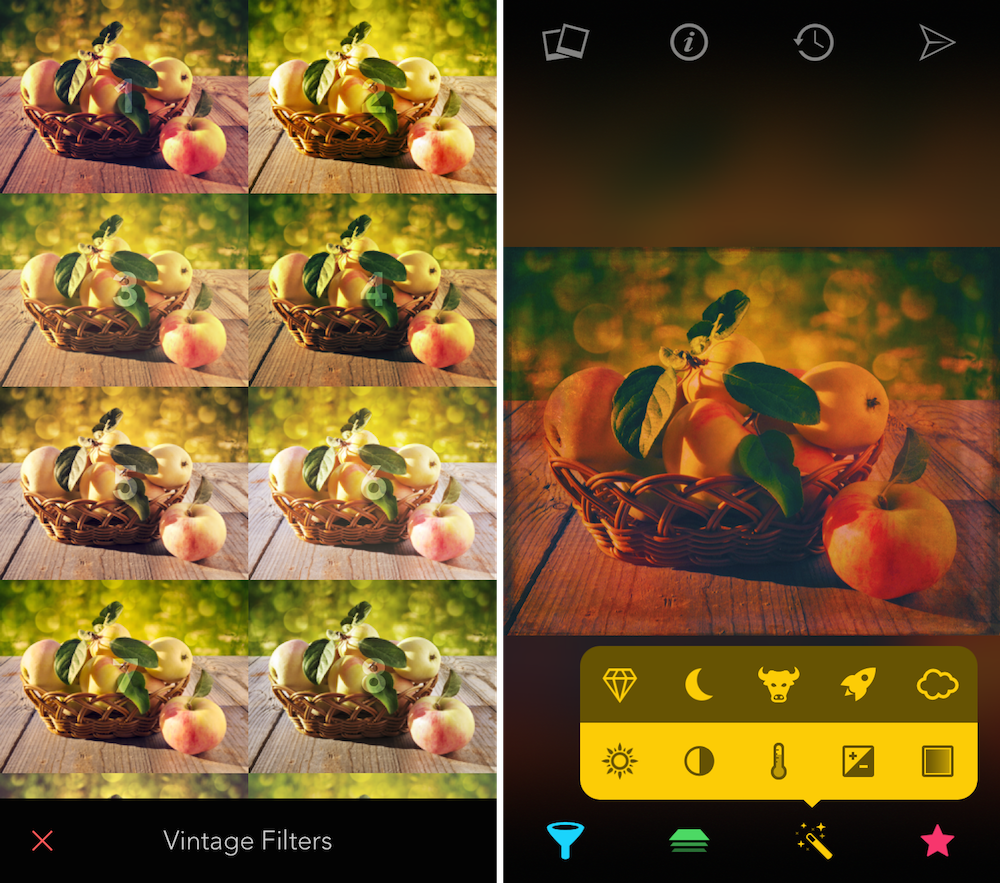 Filters app