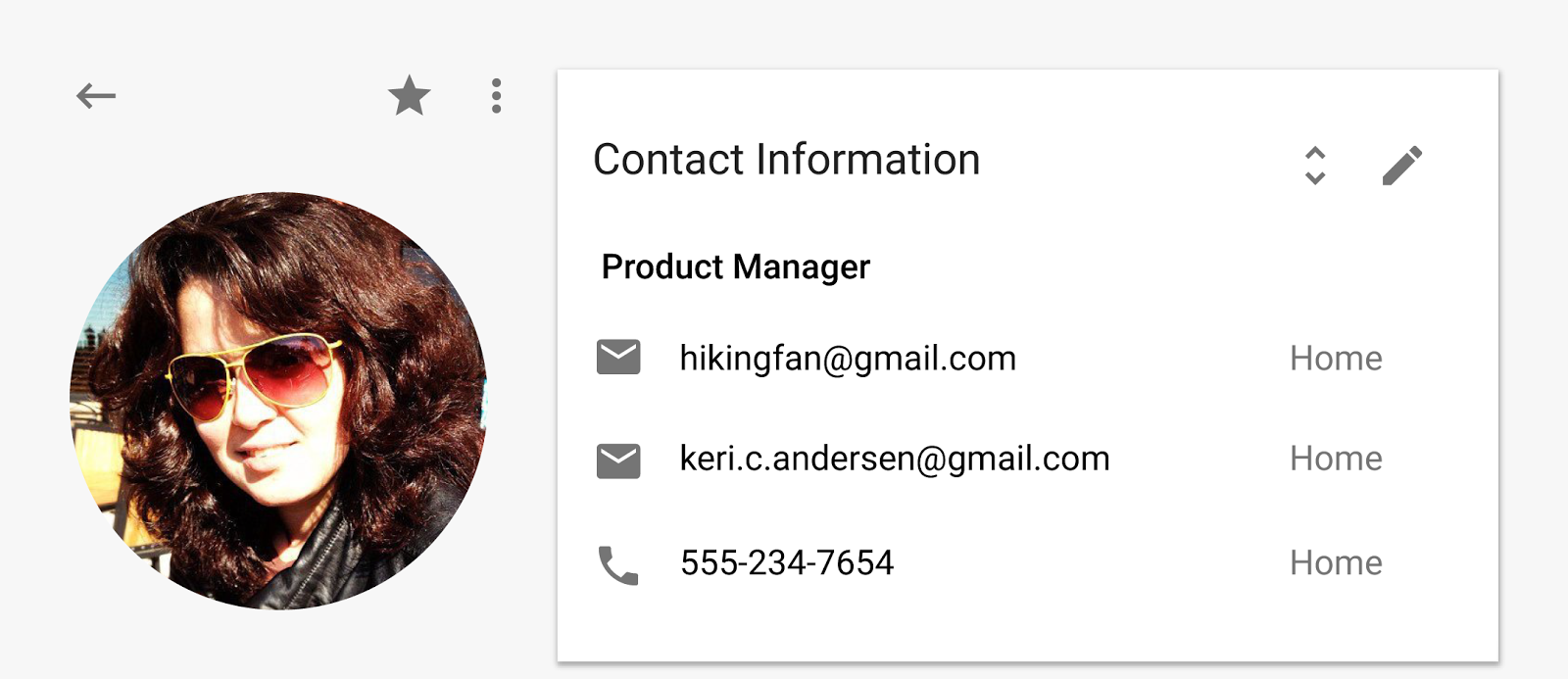 Google Contacts Material Design preview 003