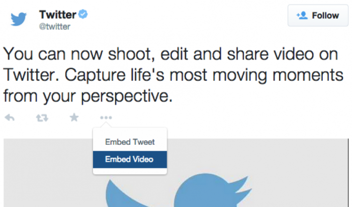 How to embed Twitter-hosted video