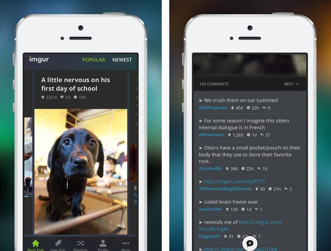 Imgur 2.0 for iOS iPhone screenshot 002