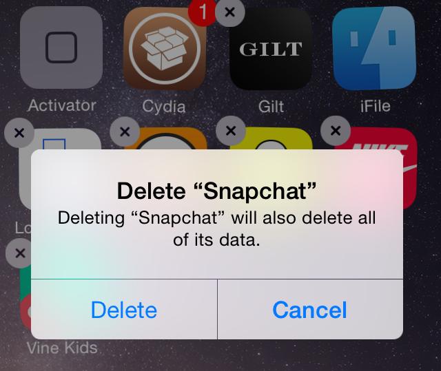 InstallReset Delete App