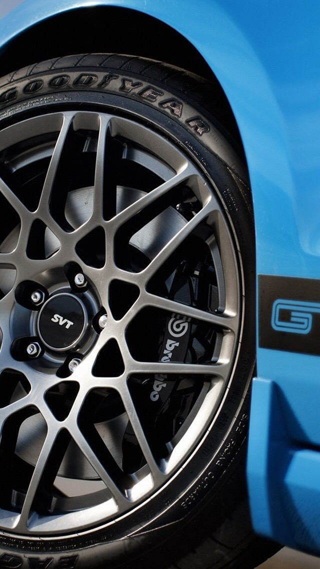 Mustang Wheel SVT Wallpaper