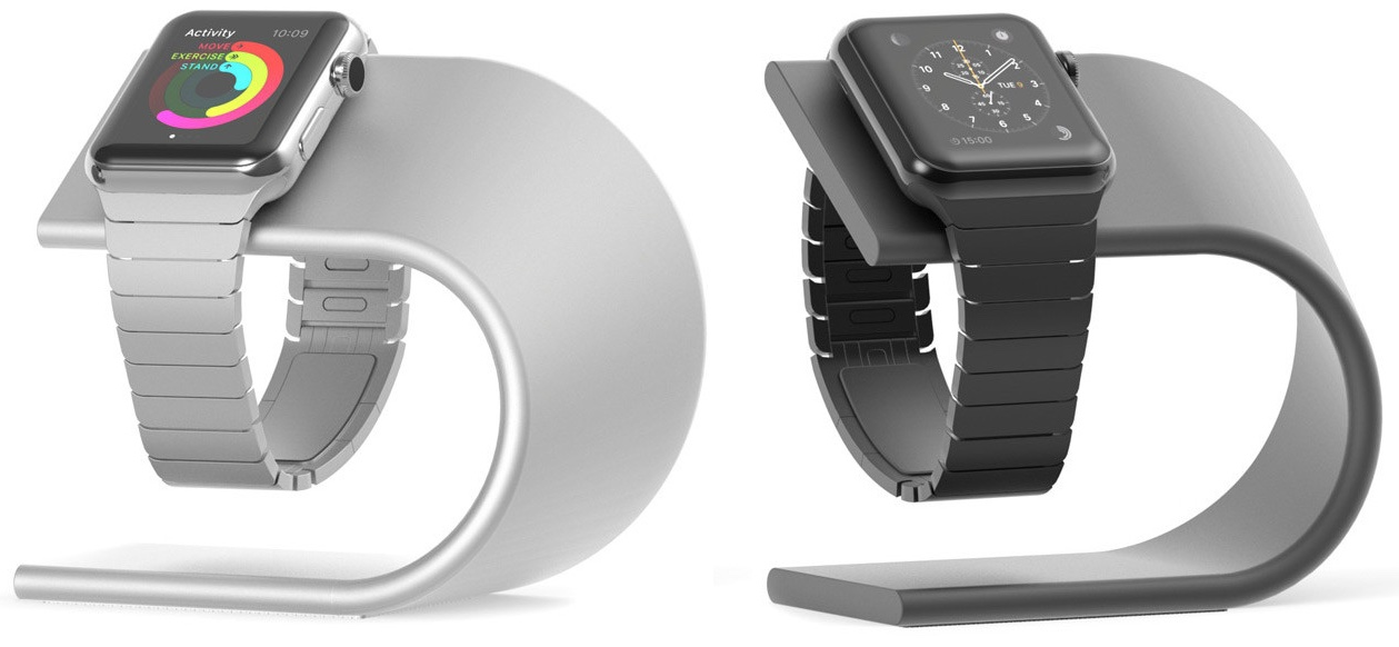 Nomad Apple Watch stand 001
