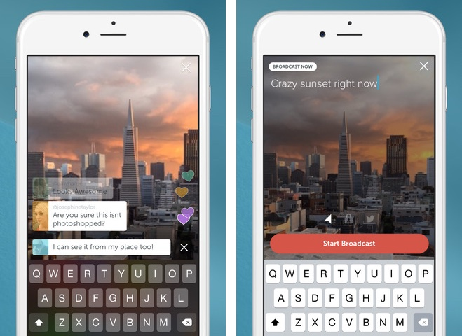 Periscope 1.0 for iOS iPhone screenshot 001