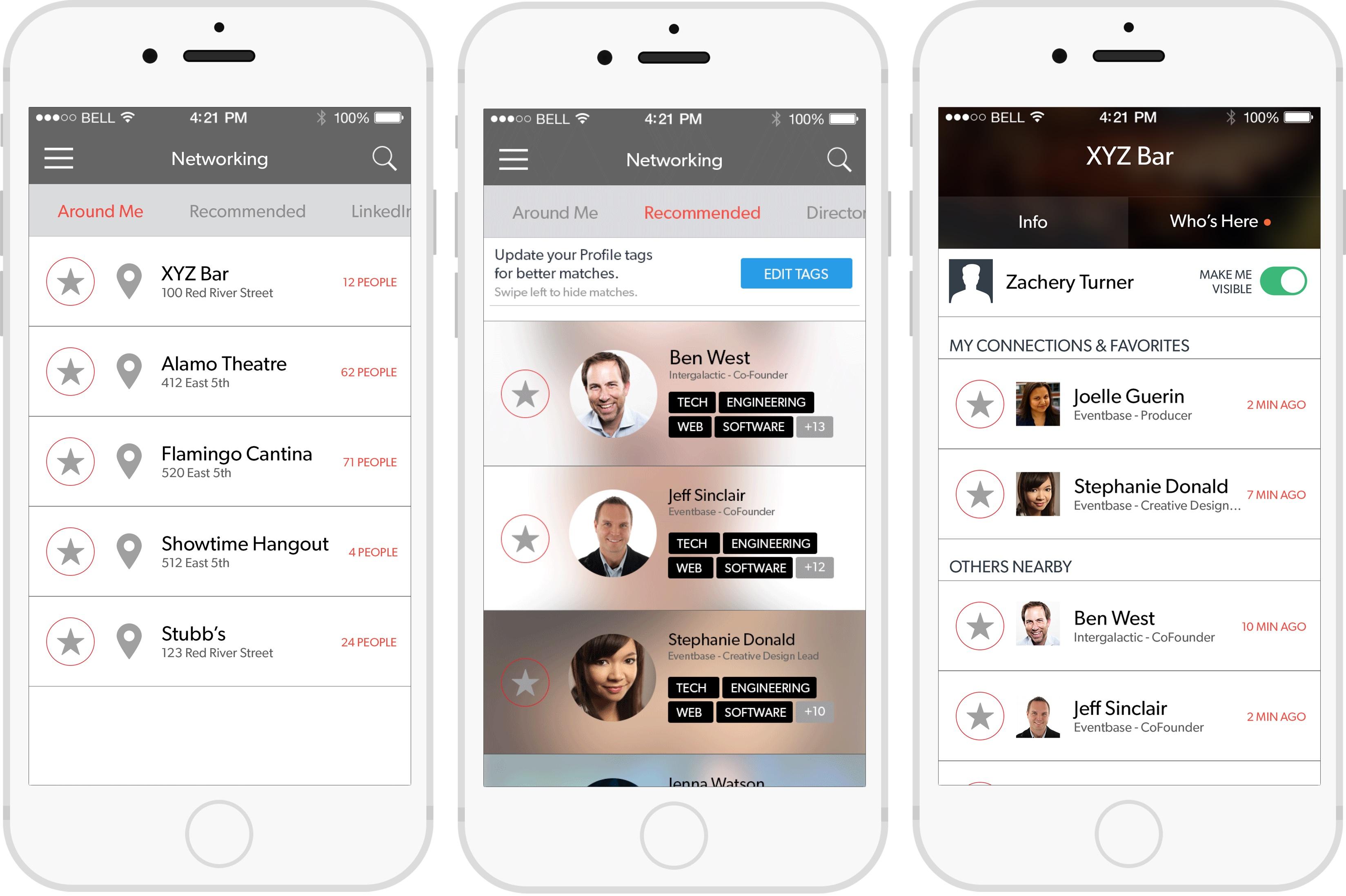 Captura de pantalla 001 de SXSW 7.0 para iOS iPhone