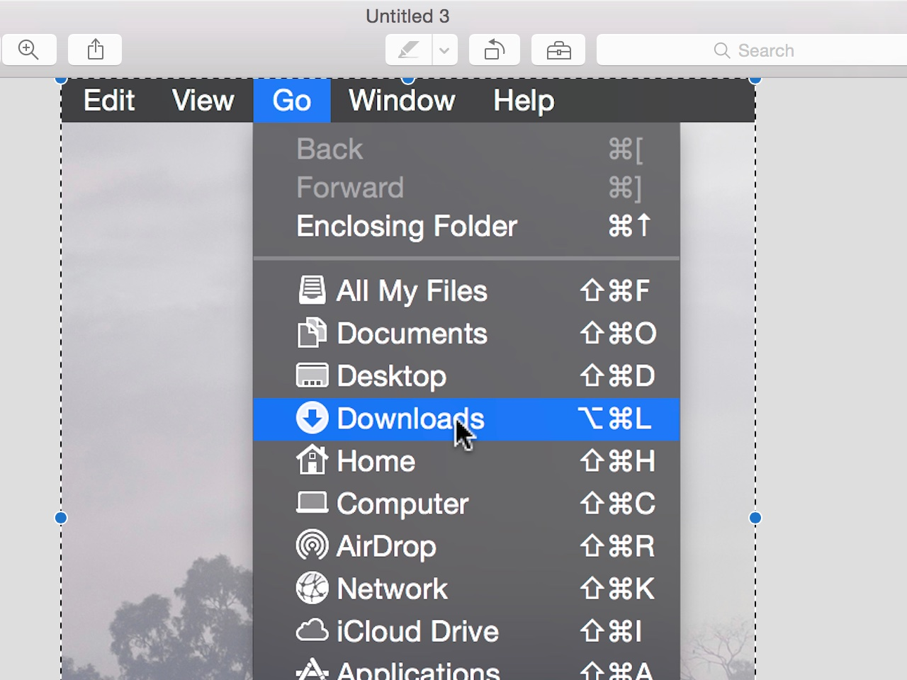 How to take screenshots that include the mouse cursor on Mac