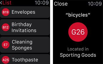 Target Apple Watch app screenshot 001