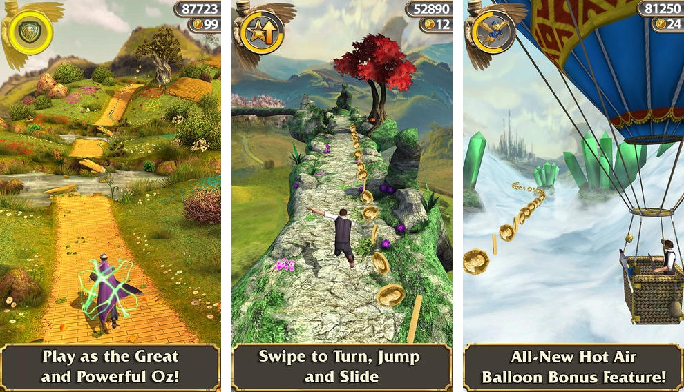 Temple Run Oz 1.6.1 for iOS iPhone screenshot 001