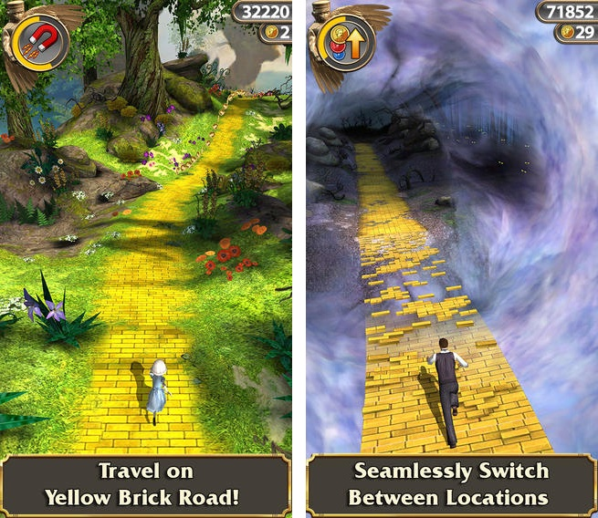 Captura de pantalla 002 de Temple Run Oz 1.6.1 para iOS iPhone