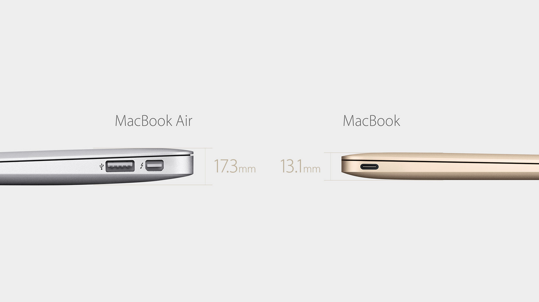 Thinner MacBook