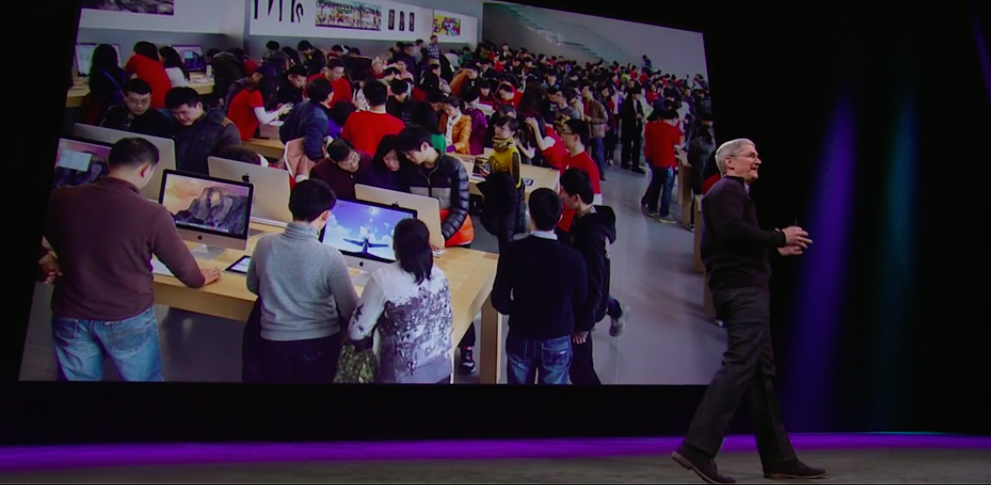Tim Cook event march 2015