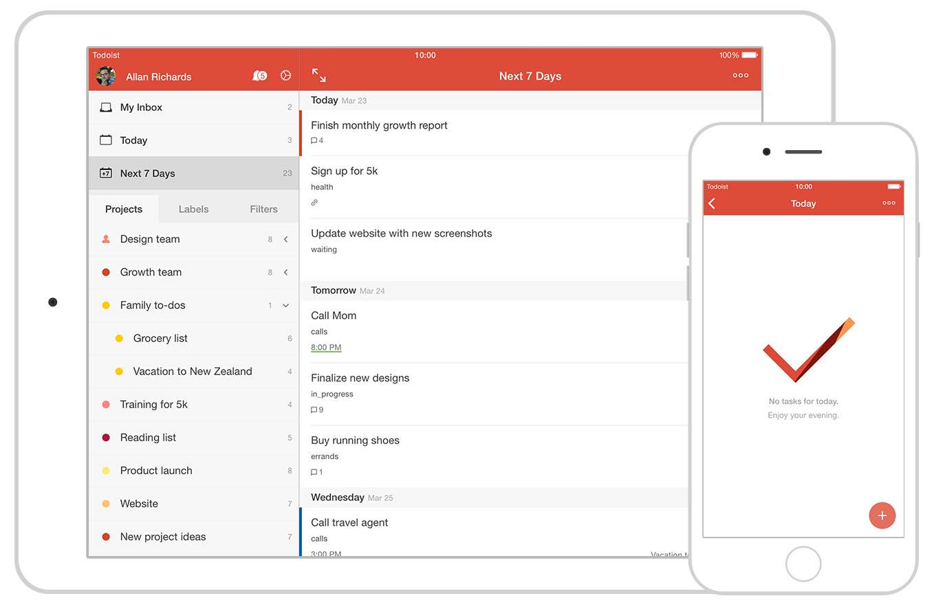 Todoist 10 for iOS teaser 001