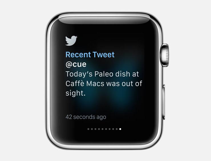 Twitter watch app