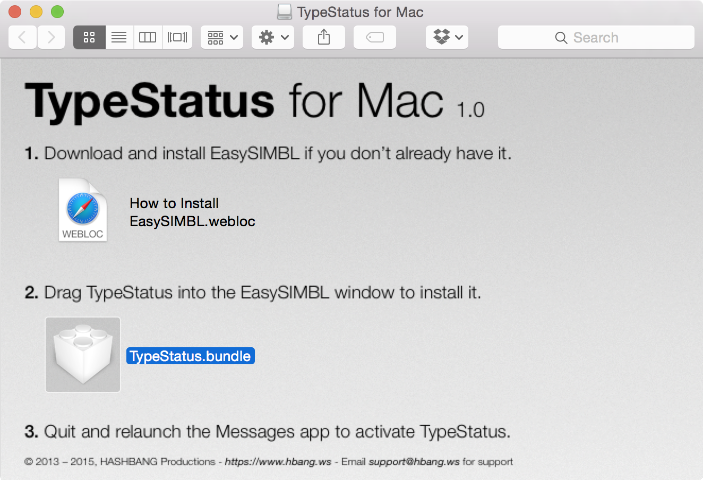 TypeStatus Mac