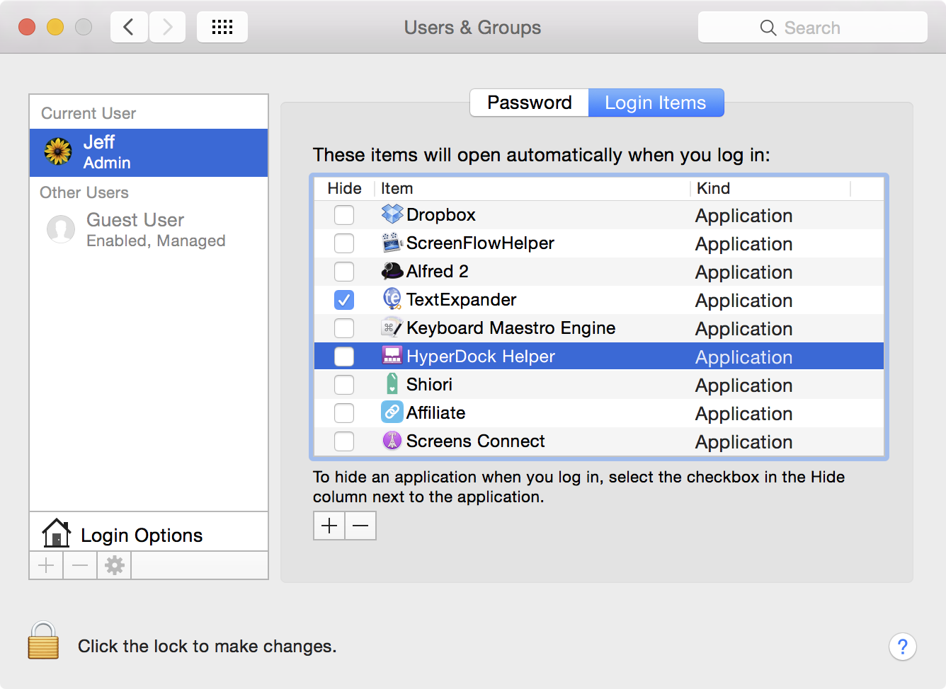 How to get apps to launch at system startup on Mac