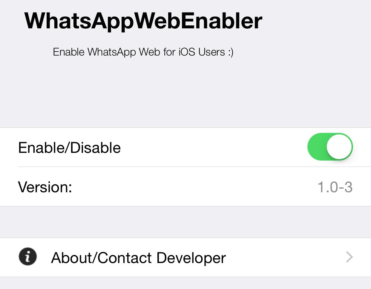 WhatsAppWebEnabler