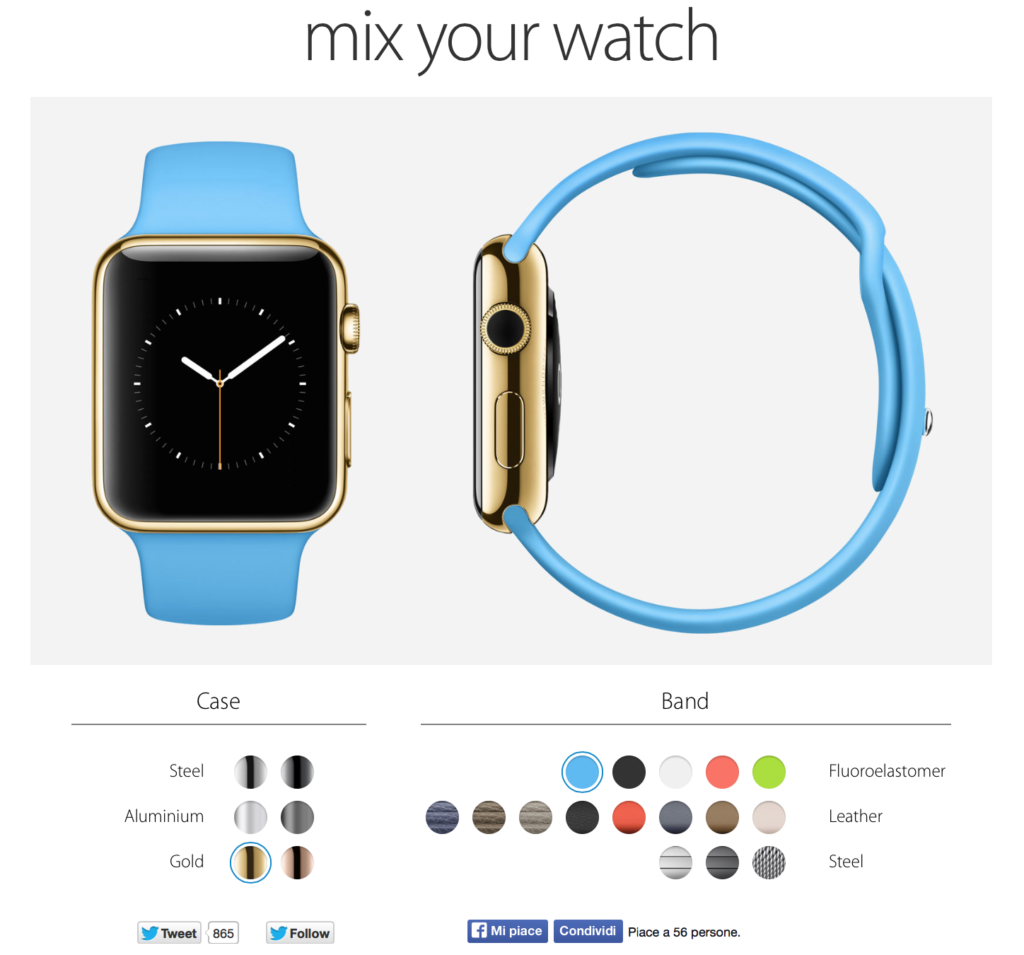 Mix your watch Apple Watch
