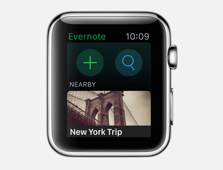evernote watch app