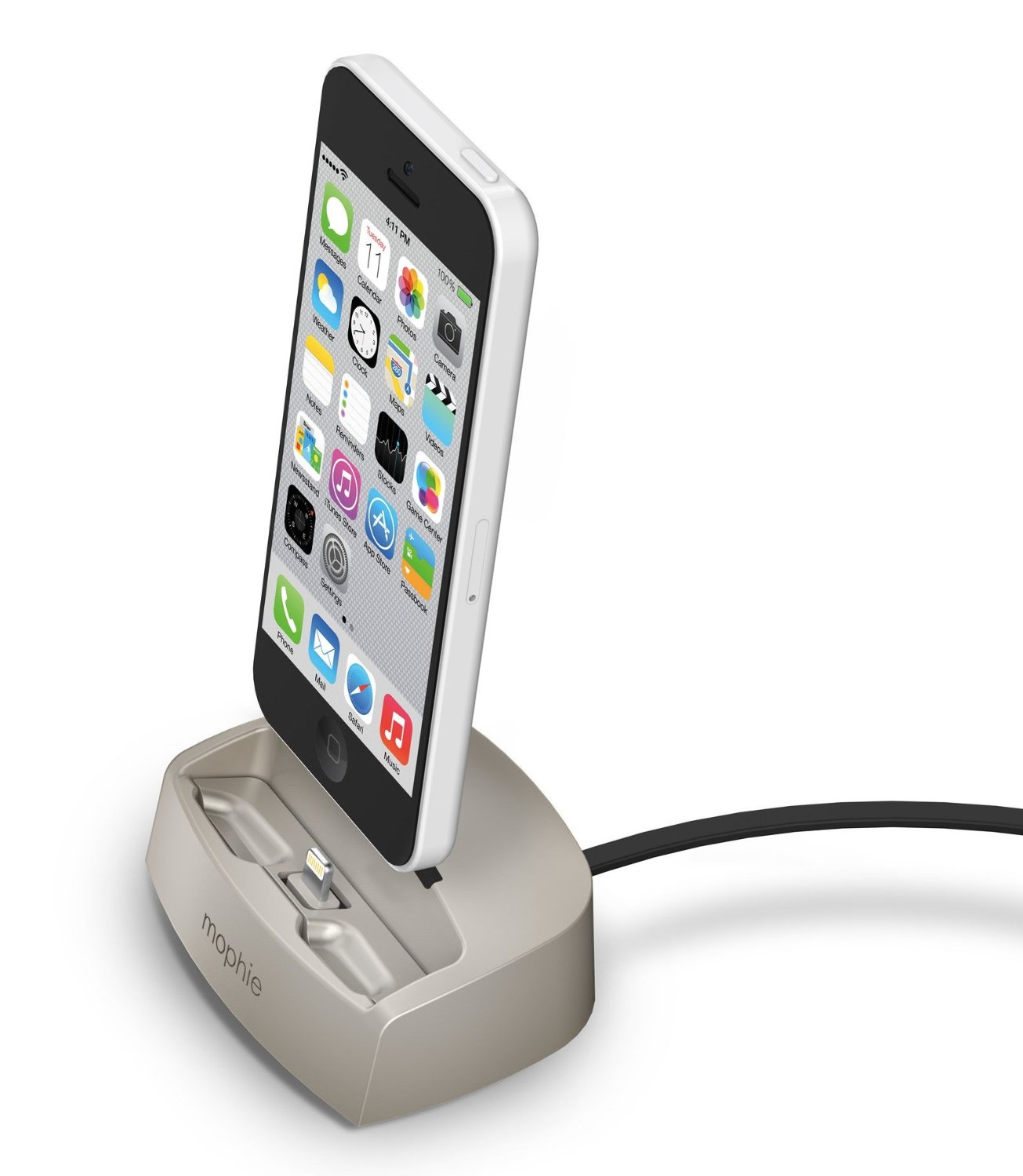 mophie Lightning Desktop Dock 2