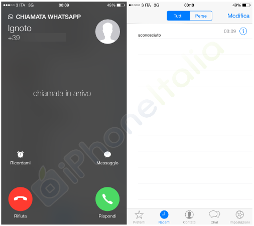 whats my phone number iphone screenshots show whatsapp for ios calling feature 2333